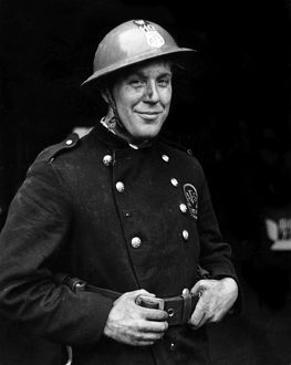Blitz in London - AFS firefighter, WW2