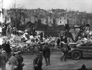Blitz in London -- Invicta Road, Westcombe Park, WW2