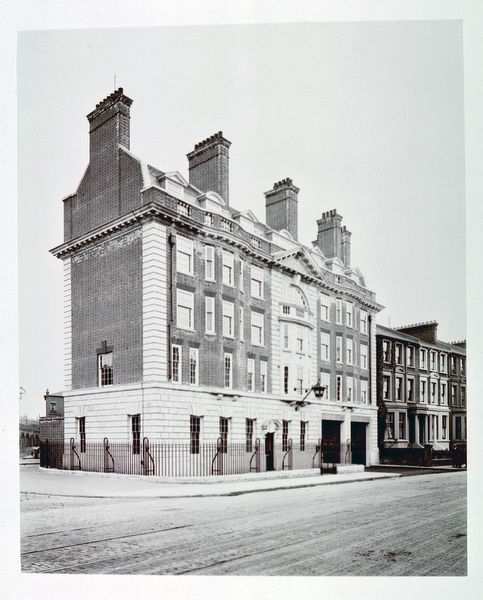 Built by the London County Council, Brixton fire station is located at 84 Gresham Road SW8. It remains operational and is one of the London Fire Brigade's busiest stations