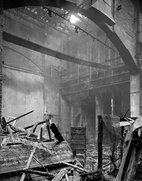 The Theatre Royal, Drury Lane Fire of 1908 - The Stage