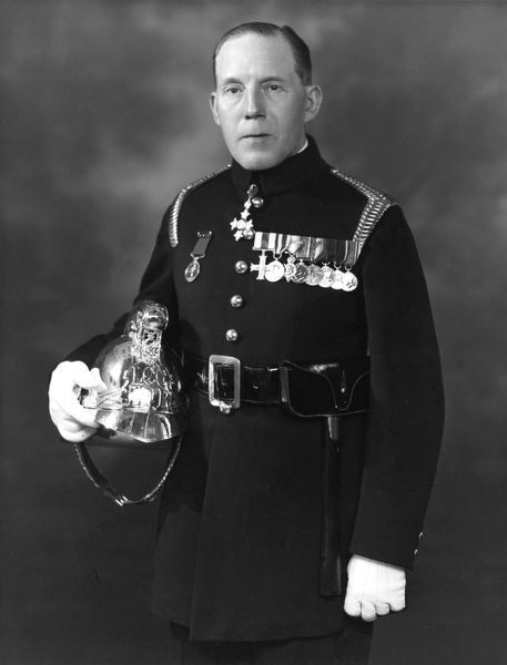 Major Cyril Clarke Borille Morris, Chief Officer of the LFB from 1933 to 1938