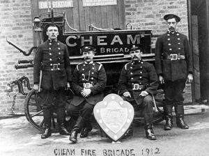 Cheam Borough Fire Brigade, Surrey