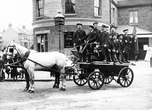 Croydon Fire Brigade, Thornton Heath horse fire engine