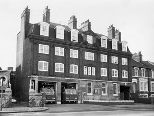 GLC-LFB Deptford fire station, Evelyn Street, Deptford