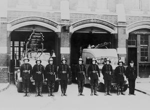 LCC-LFB Woolwich fire station, SE London