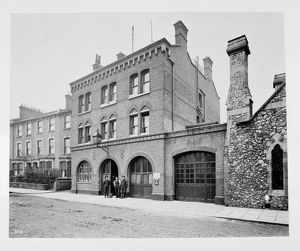 LCC-MFB Hackney fire station, E9