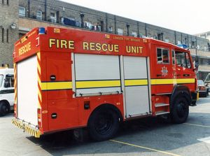 LFCDA-LFB Fire Rescue tenders