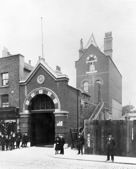 MFB and LCC-LFB Mile End fire station, East London