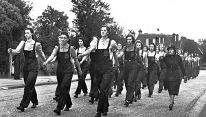 Women in the Auxiliary Fire Service, WW2